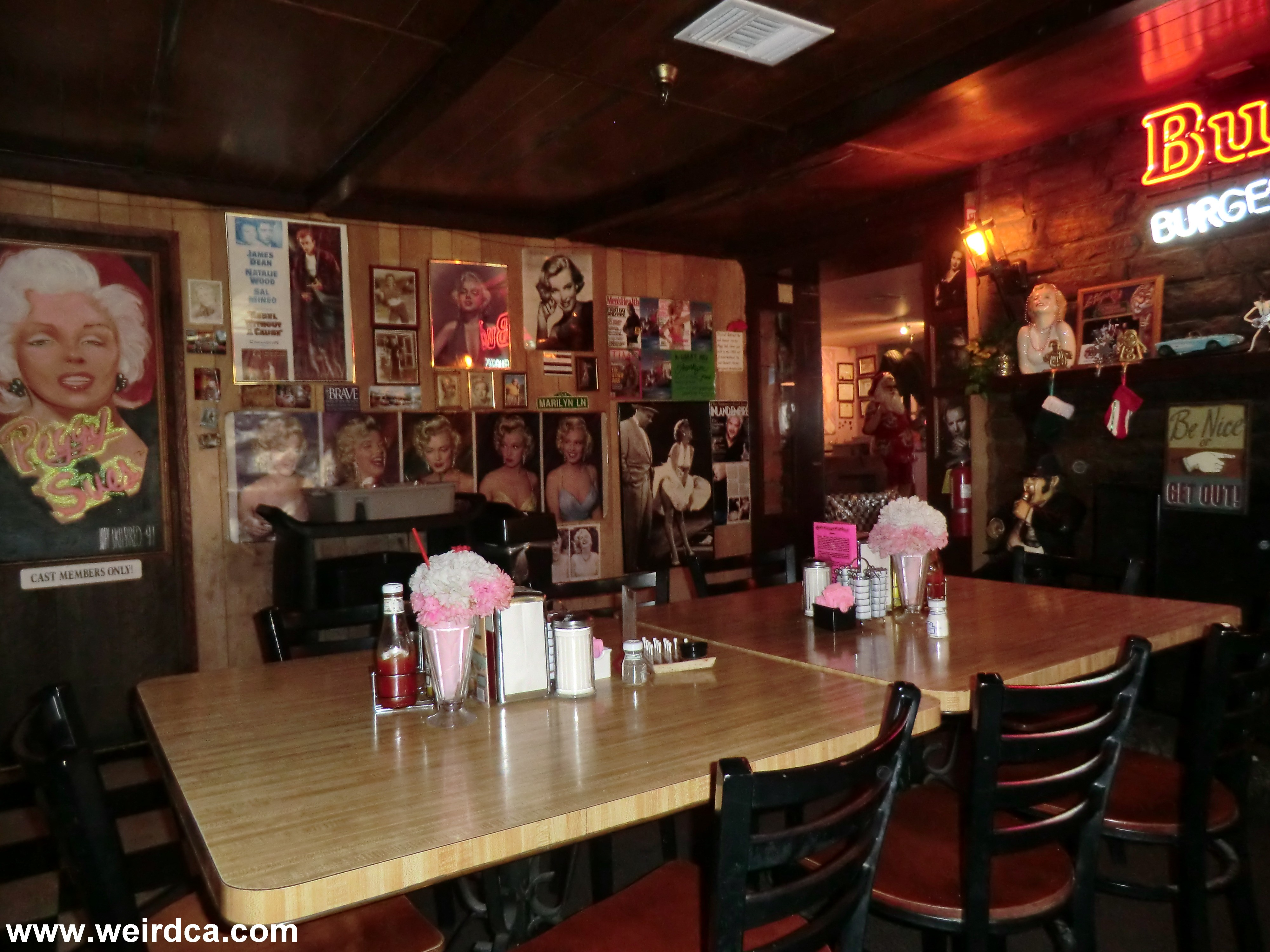 Peggy Sue's 50's Diner - Weird California  Peggy Sue's...