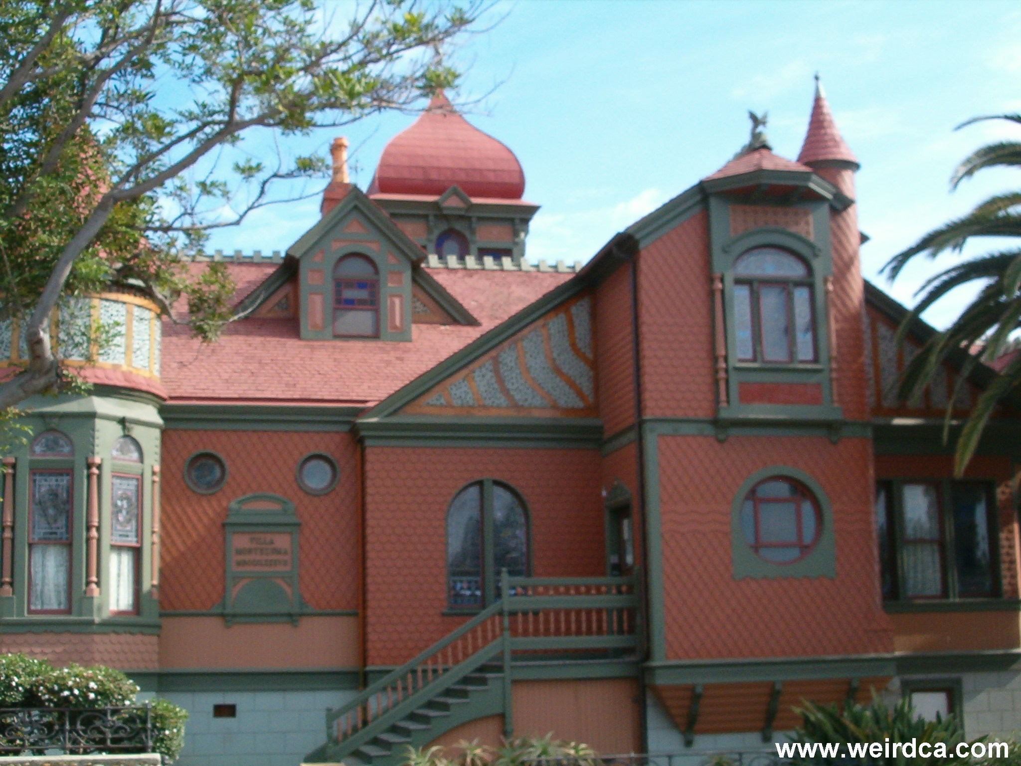 Jesse Shepherd had the Stately Villa Montezuma built in 1887