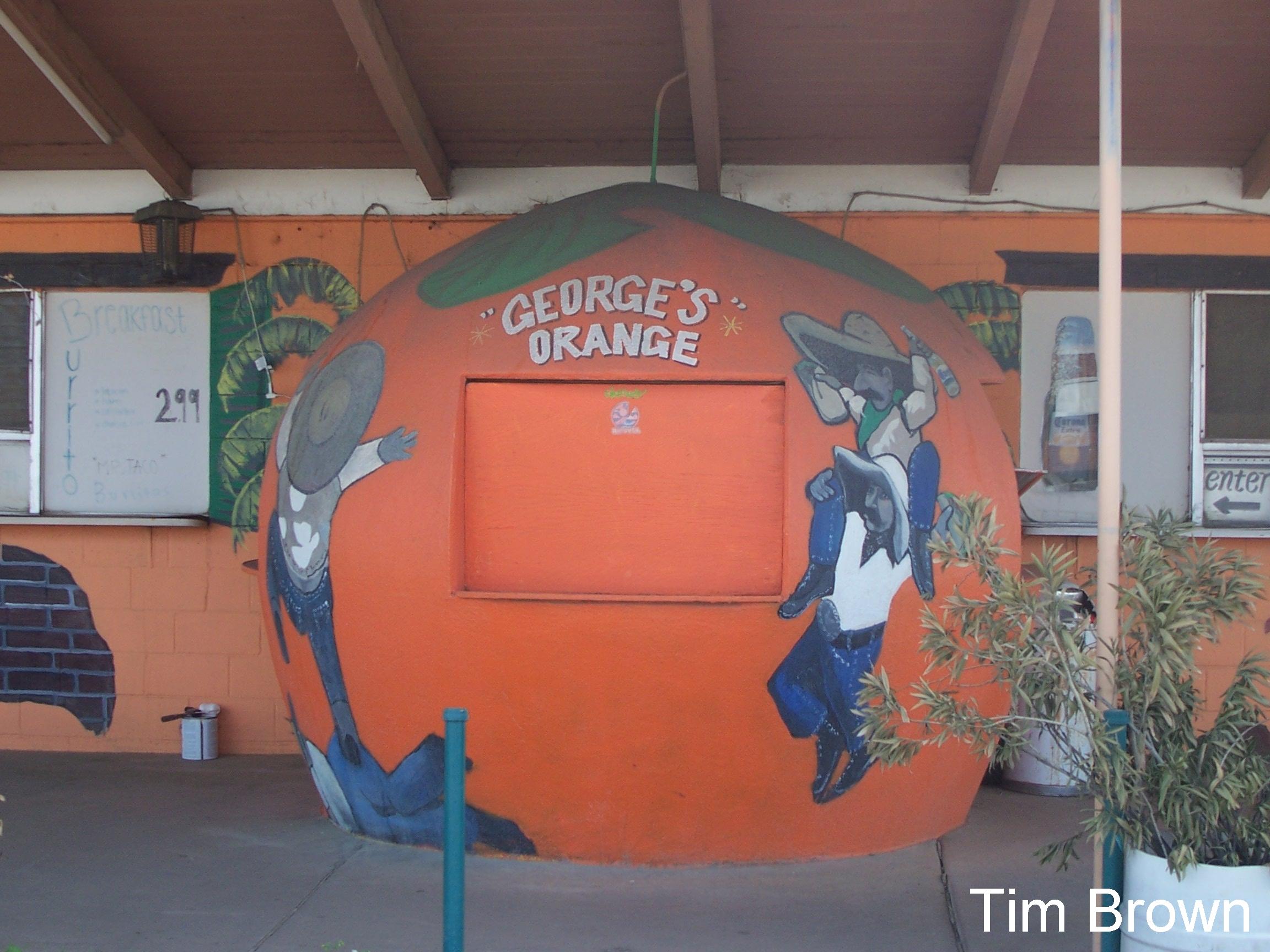 Giant Orange Stands Of California Weird California