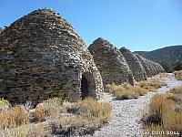 Windrose Charcoal Kilns located above Death Valley