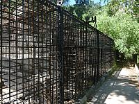 Cages at the Old LA Zoo