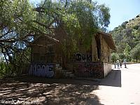 Abandoned building from the Old LA Zoo