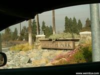The Entrance to Griffith Park