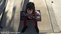 Small cheeseburger hating child presented for plaque scale.