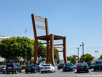 Los Angeles plays home to a 40 foot tall chair!