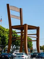 The Giant Chair of LA Mart in Los Angeles