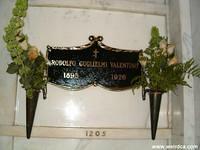 Rudolph Valentino's 'Temporary' Crypt
