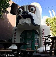 Replica of the Bulldog Cafe - Photo by Craig Baker