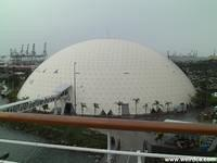 The Spruce Goose Dome holds Chill around Christmas