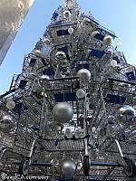 Shopping Cart Christmas Tree