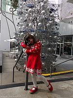 Tiffany with the Shopping Cart Tree