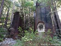 Lime Kilns at Limekiln State Park on Highway 1