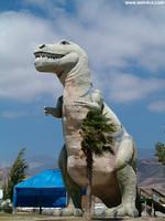 Say hi to Mr. Rex, the T-Rex in Cabazon