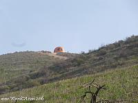 Hiking up to Pumpkin Rock