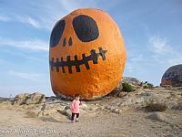 Tiffany at Pumpkin Rock