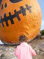 Tiffany at Pumpkin Rock