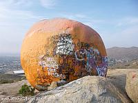 Back of Pumpkin Rock
