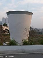 The World's Largest Paper Cup in Riverside