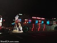 Alien Fresh Jerky at Night