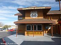 Barstow Station is made out of several train cars!