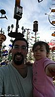 Tiffany and I at the Bottle Tree Ranch