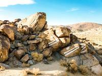The Fish Rocks on the road between Ridgecrest and Trona!