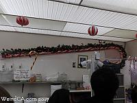 The World's Largest Handmade Candy Cane at Logan's Candies in Ontario