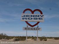 Iconic Jenny Rose Sign