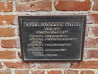 Plaque Kahle Saddlery