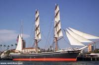 The Star of India at San Diego Maritime Museum