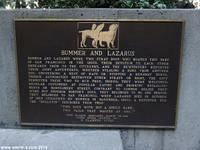 Plaque to Bummer and Lazarus