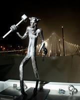 New Bay Bridge Troll - photo by Noah Berger taken from Bay Area Toll Authority