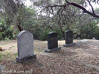 Tombstones at Adelaida Cemetery