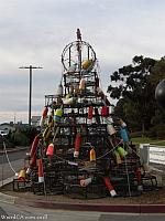 Morro Bay's Crab Pot Christmas Tree