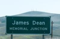 James Dean Memorial Junction at the Intersection of 46 and 41