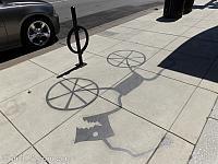 Redwood City Shadow Art