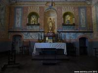 The alter at Mission La Purisima
