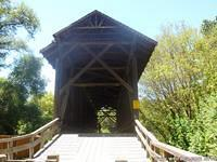 The tallest covered bridge in the United States was built in 1892 in Felton.