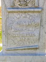 Gravestone of William Waddell