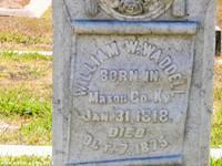 William Waddell's Gravesite