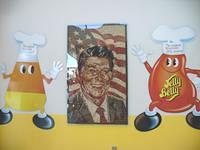Ronald Reagan in Jelly Bean - From Wikipedia's Common Files