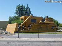Turlock plays host to this giant Bulldozer Building!