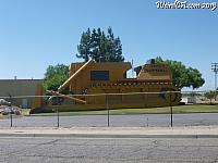 The Bulldozer Building in Turlock