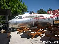 Grab some BBQ in a former Air Force training plane
