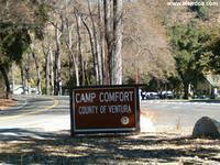 Camp Comfort County Park, South of Ojai