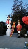 Snowman and Toy Soldier