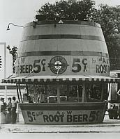 Original A&W Root Beer stand