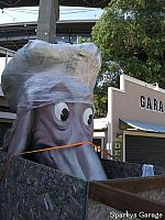 Port Costa Doggie Diner Head