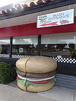 A Giant Burger in Atascadero