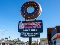 Formerly an Angel Food Donut Shop, this location is now a Dunkin' Donuts